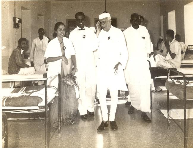 With PM Nehru
