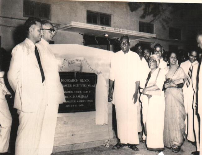 With CM Kamaraj