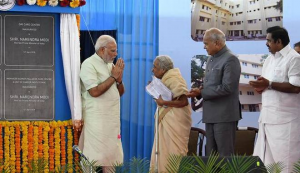PM Modiji with Dr Shanta